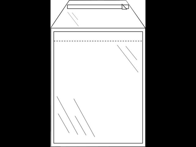 ENVELOP CLEVERPACK AKTE A4 220X300 ZK KLEP 50ST TR