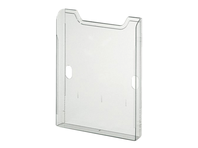 Folderstandaard multiform a4 staand groen transparant