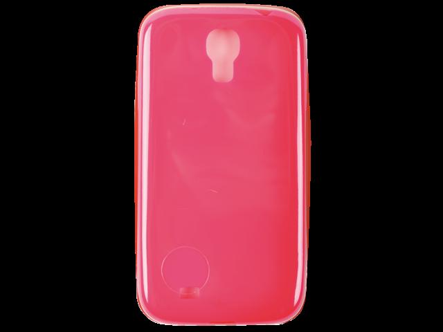 Telefoonhoes dresz case tpu samsung s4 roze