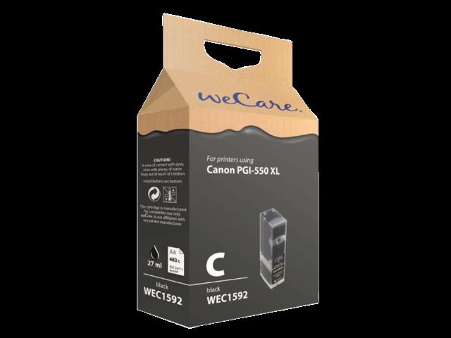 Inkcartridge wecare canon pgi-550xl zwart
