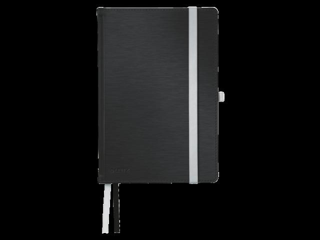 Notitieboek leitz style harde kaft a5 satijnzwart