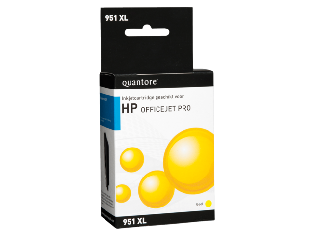 Quantore inktcartridges voor HP printers 900 serie