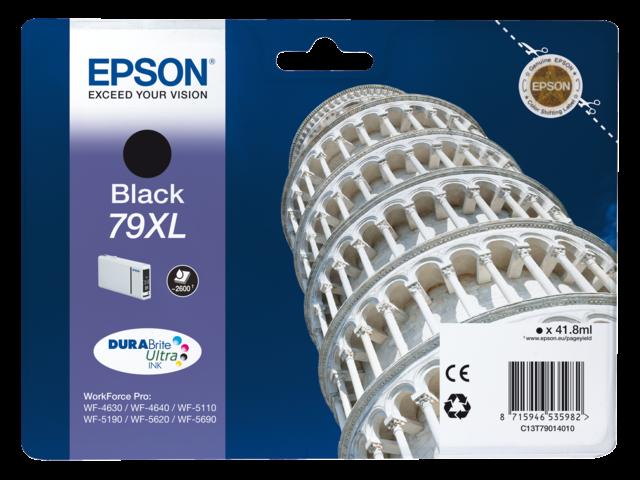 Inkcartridge epson t790140 zwart hc