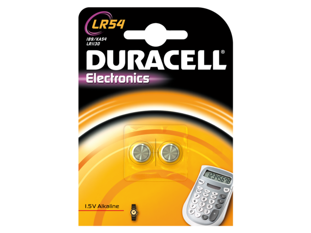 Duracell knoopcelbatterijen