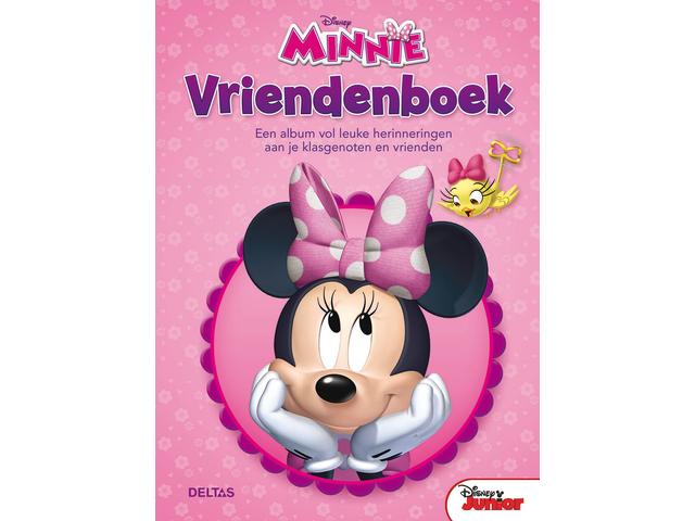 Vriendenboek minnie mouse