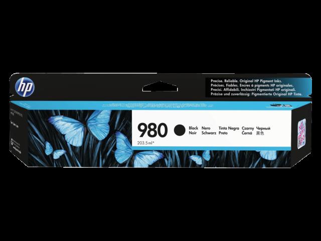 Inkcartridge hp d8j10a 980a zwart