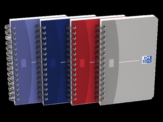 Spiraalblok oxford essentials 9x14cm 90vel gelinieerd