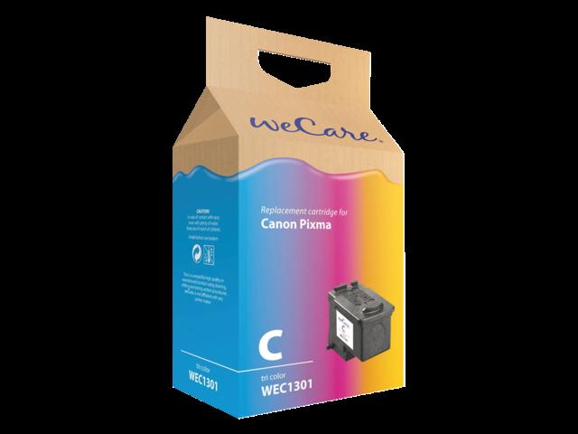Inkcartridge wecare canon cl-511 kleur