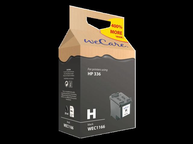Inkcartridge wecare hp c9362ee 336 zwart