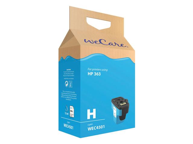 Inkcartridge wecare hp c8771ee 363 blauw