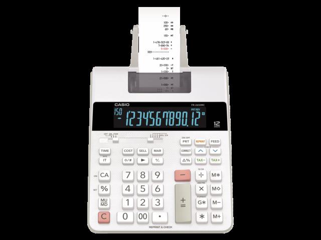 REKENMACHINE CASIO FR-2650RC