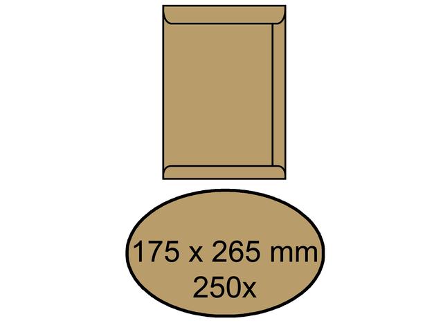 Wit Bankje Met Klep.Informatie Over Envelop Bank 114x229mm Trapezium Klep Wit 500stuks