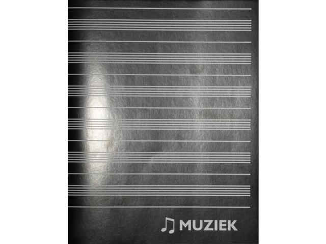MUZIEKSCHRIFT A5 80GR 36BLZ