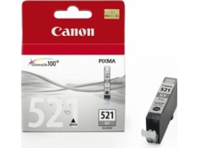 Inkcartridge canon cli-521gs grijs