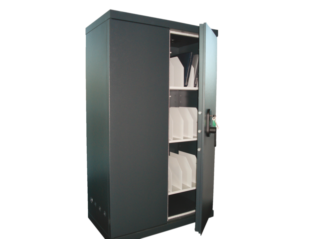 Laptopkast ll22 195x93x52cm 230kg zwart