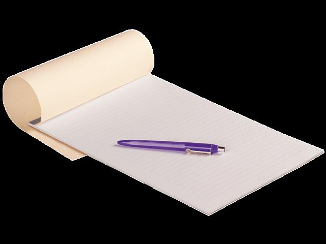 Schrijfblok a4 budget gelinieerd