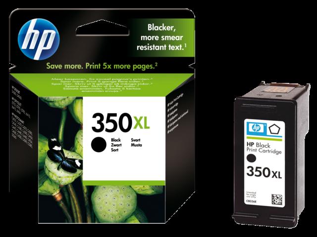 Inkcartridge hp cb336ee 350xl zwart hc