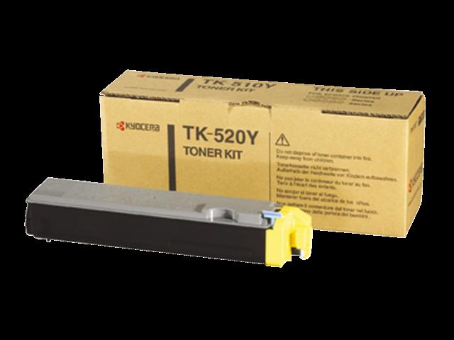Toner kyocera tk-520y geel