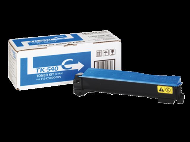 Toner kyocera tk-540c blauw