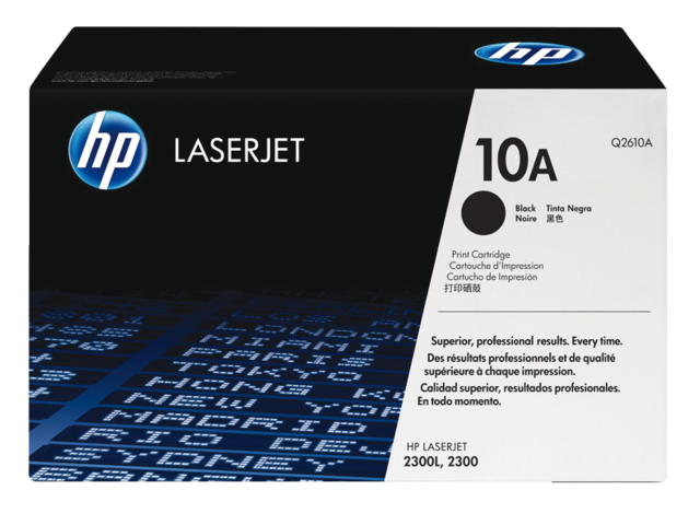Tonercartridge hp q2610a 10a zwart