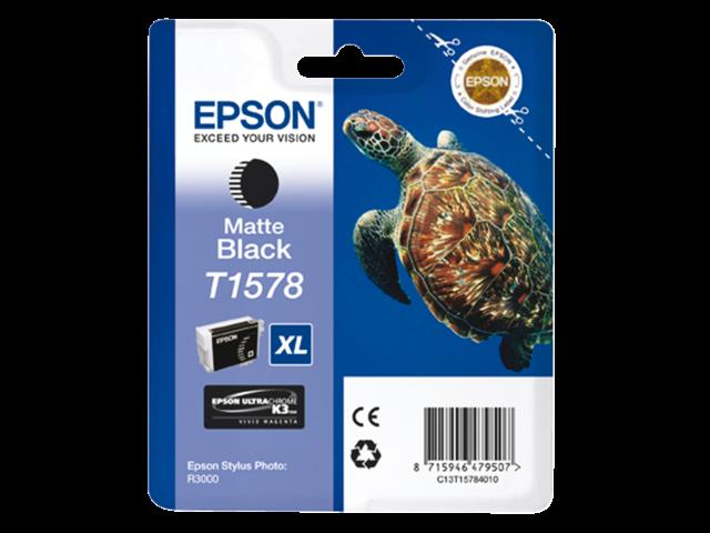 Inkcartridge epson t157840 mat zwart