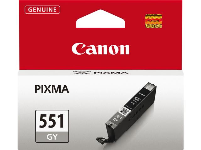 Inkcartridge canon cli-551gs grijs