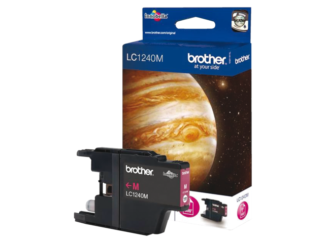 Inkcartridge brother lc-1240m rood