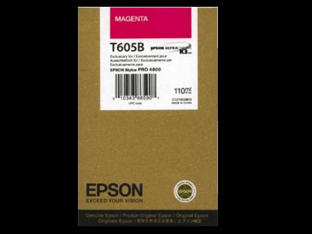 Inkcartridge epson t605b00 rood