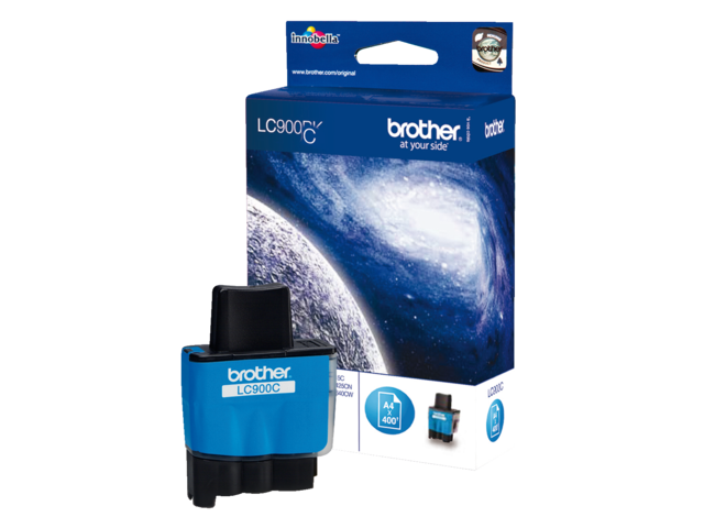 Inkcartridge brother lc-900c blauw