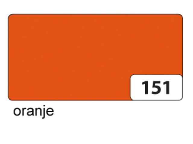 Etalagekarton folia 48x68cm 400gr nr151 oranje