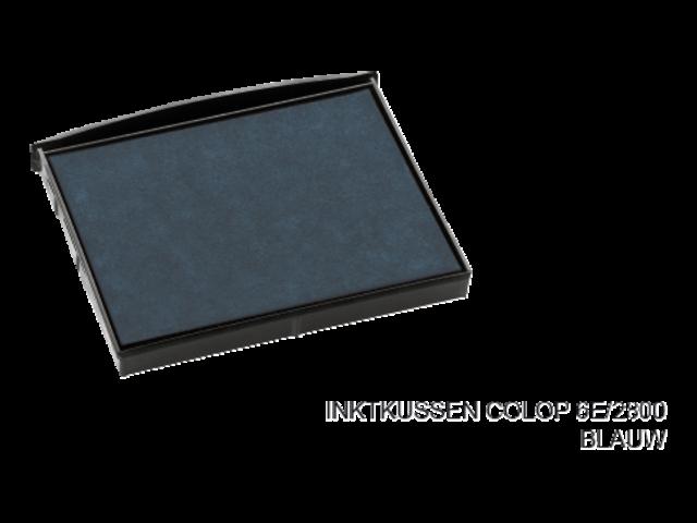 Stempelkussen colop 6e/2800 blauw