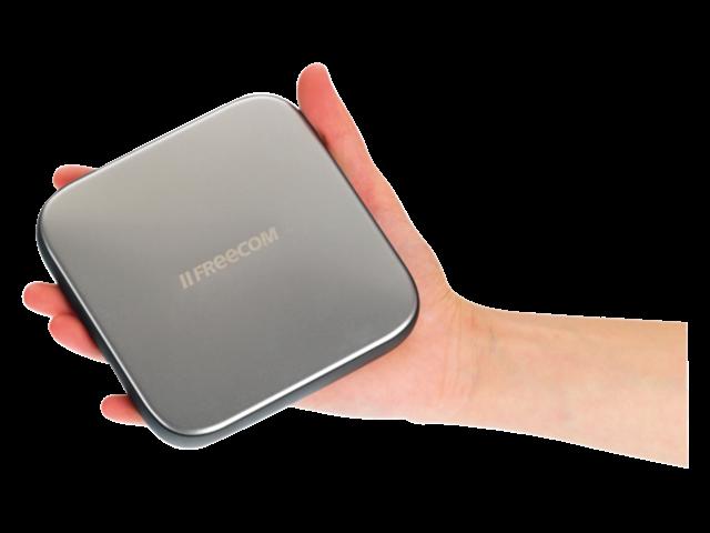 Harddisk freecom mobile drive sq 1tb usb 3.0 zwart