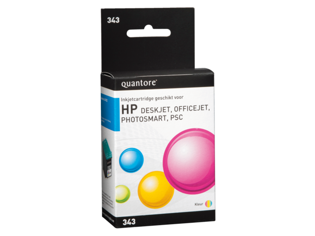 Quantore inktcartridges voor HP printers 300 serie