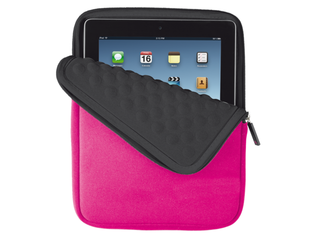 Tablethoes trust bubble 10inch tablet anti-schok roze