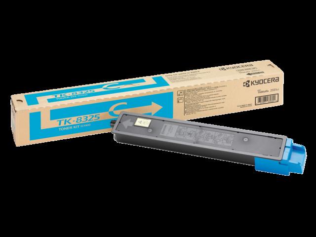 Toner kyocera tk-8325c blauw