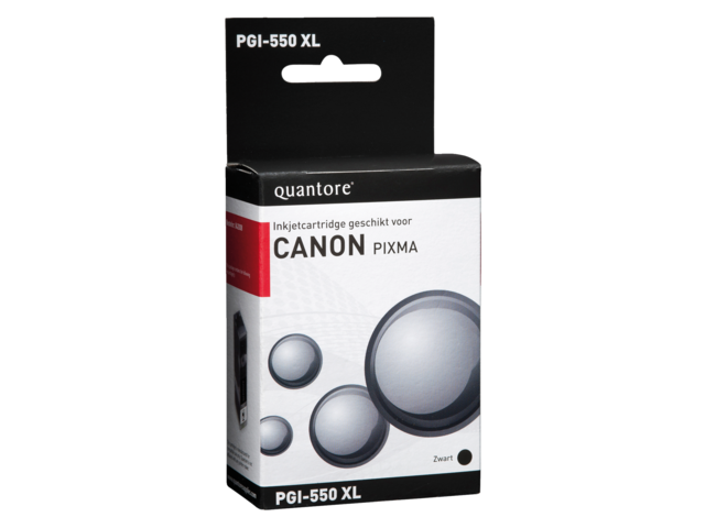 Inkcartridge quantore canon pgi-550xl zwart hc