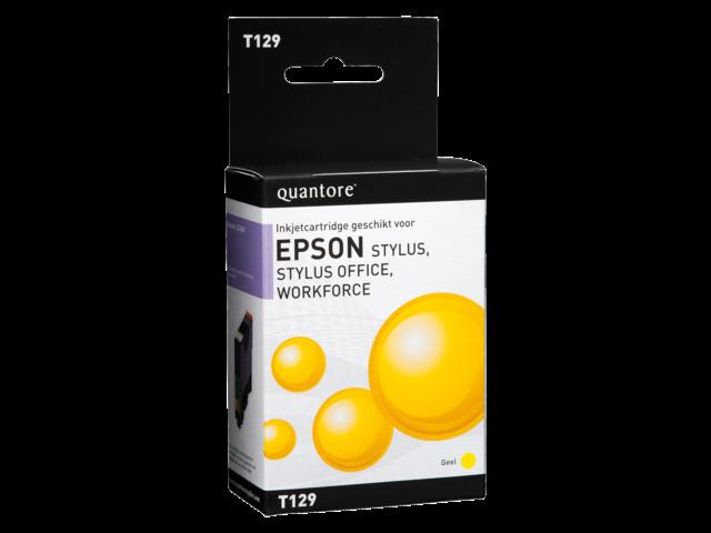 Inkcartridge quantore epson t129440 geel
