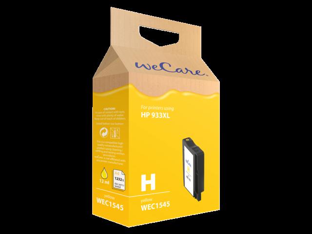Inkcartridge wecare hp cn056ae 933xl geel hc