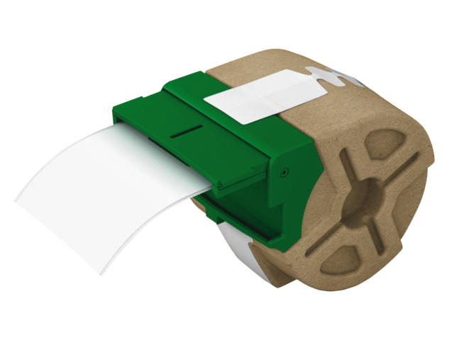 Etiket leitz icon labelprint papier 61mmx22m wit zelfklevend