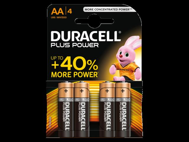 Duracell batterijen Plus Power