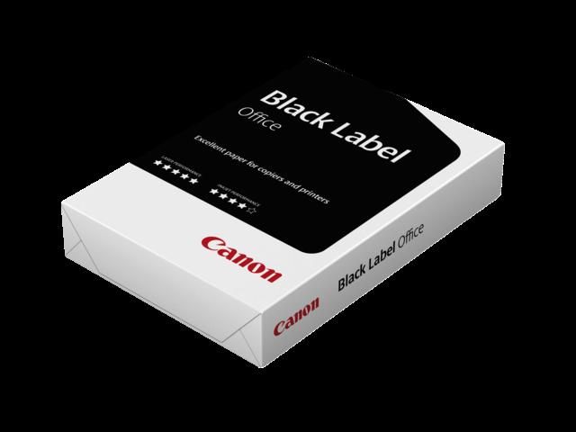 Kopieerpapier canon black label office a4 70gr wit 500vel