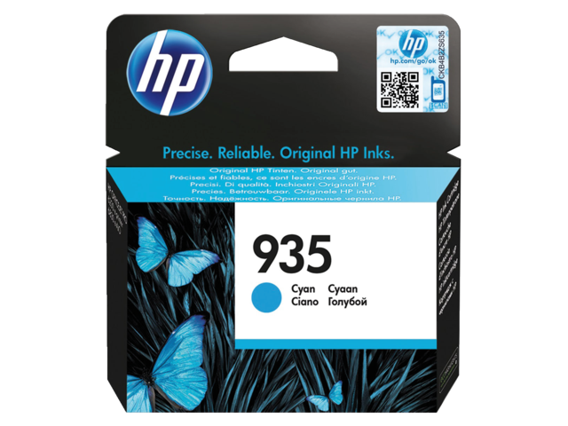 Inkcartridge hp c2p20ae 935 blauw