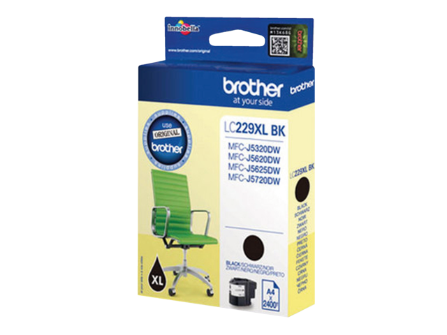 Inkcartridge brother lc-229xlbk zwart hc