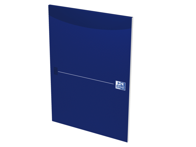 Schrijfblok oxford office smart blue a4 blanco