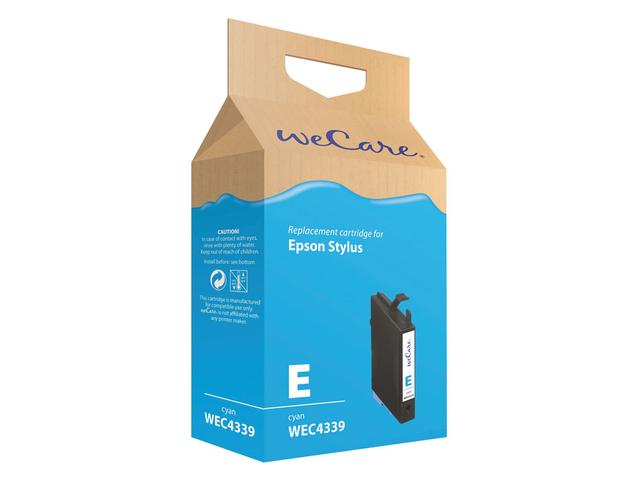 Inkcartridge wecare epson t061240 blauw