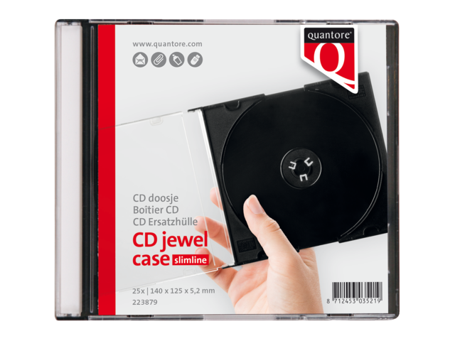 CD DOOS QUANTORE LEEG SLIMLINE