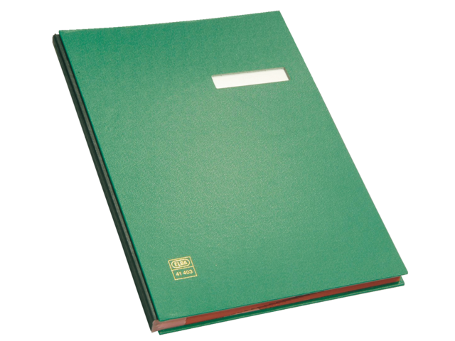 Vloeiboek elba 41403 groen