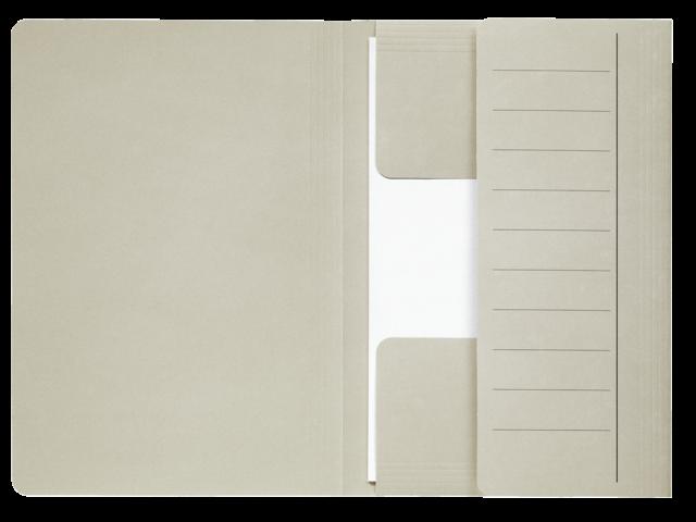 Dossiermap jalema mammoet 270gr folio grijs 10stuks
