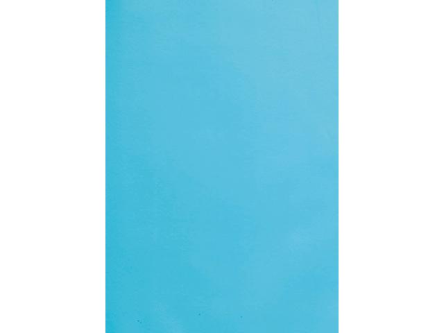 Voorblad gbc a4 pvc 180micron blauw 100stuks