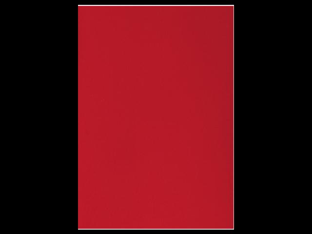 Voorblad gbc a4 pvc 300micron rood 100stuks